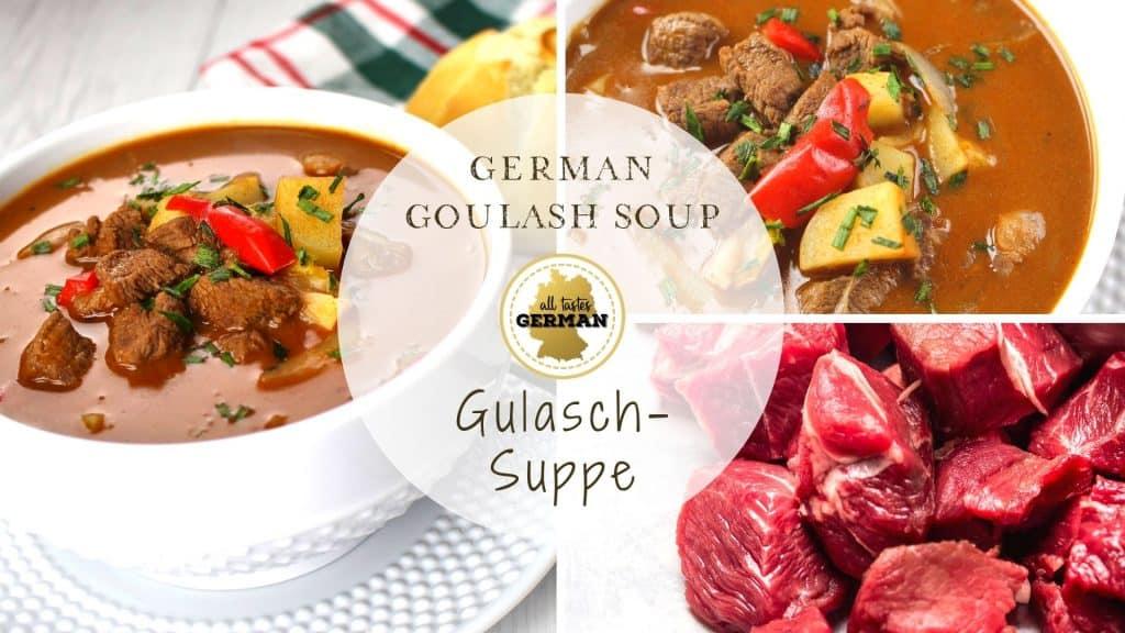 Goulash Soup Collage