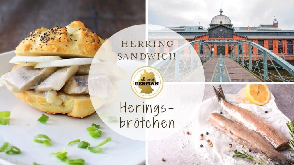 Herring Sandwich Collage