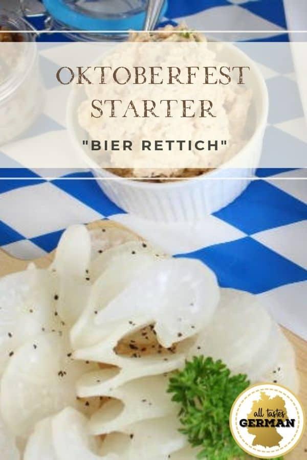 Oktoberfest Starter Radish