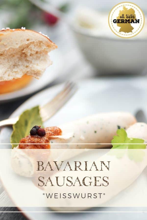 White Bavarian Sausages