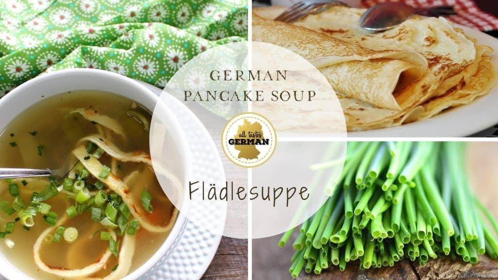 German Pancake Soup