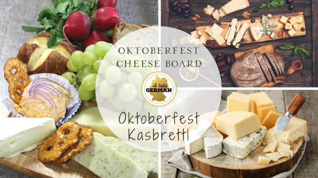 Oktoberfest Cheese Board
