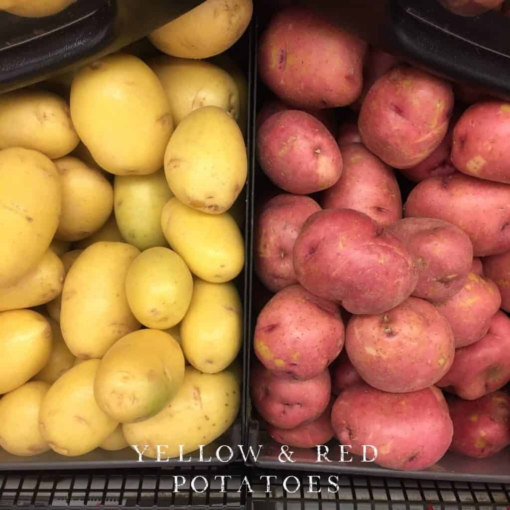 Red Yellows Potatoes