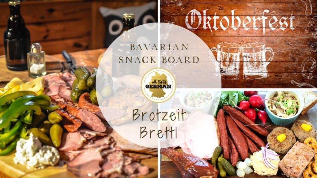 Bavarian Snack Board Collage