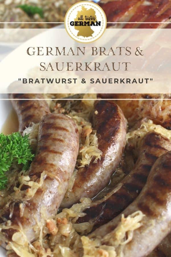 Brats Sauerkraut Griddle Pin