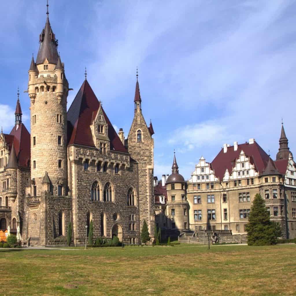 Castle Moschen Upper Silesia