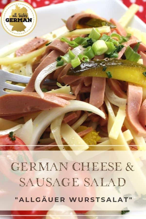 Cheese Sausage Salad Pin