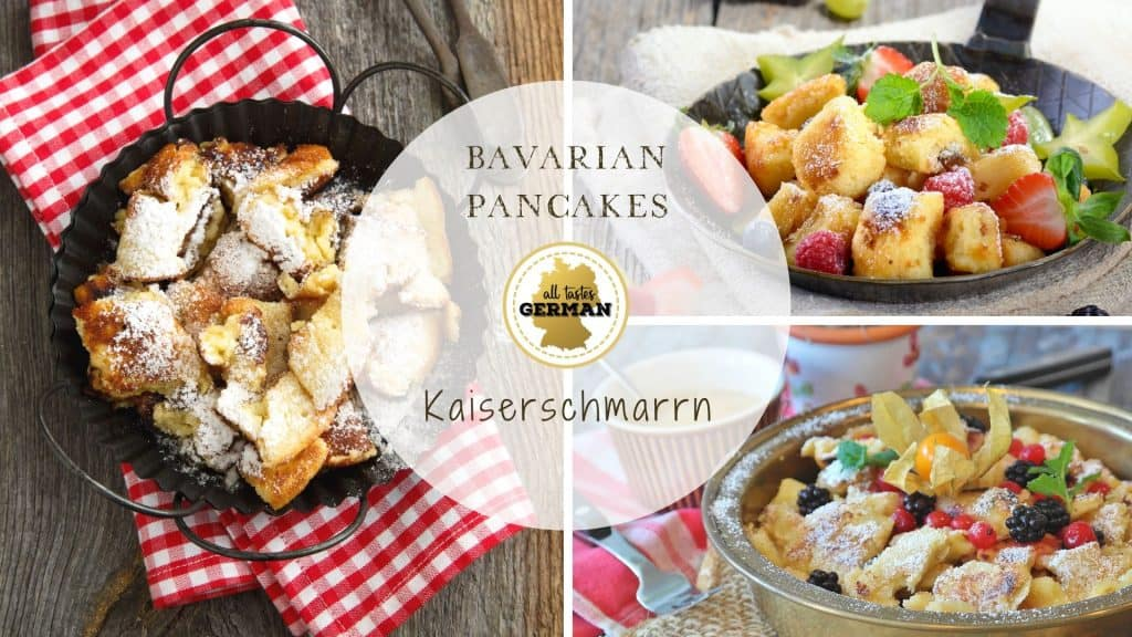 German Pancakes Collage