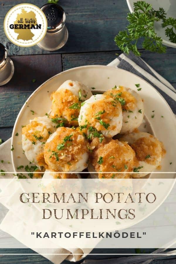 German Potato Dumplings Pin