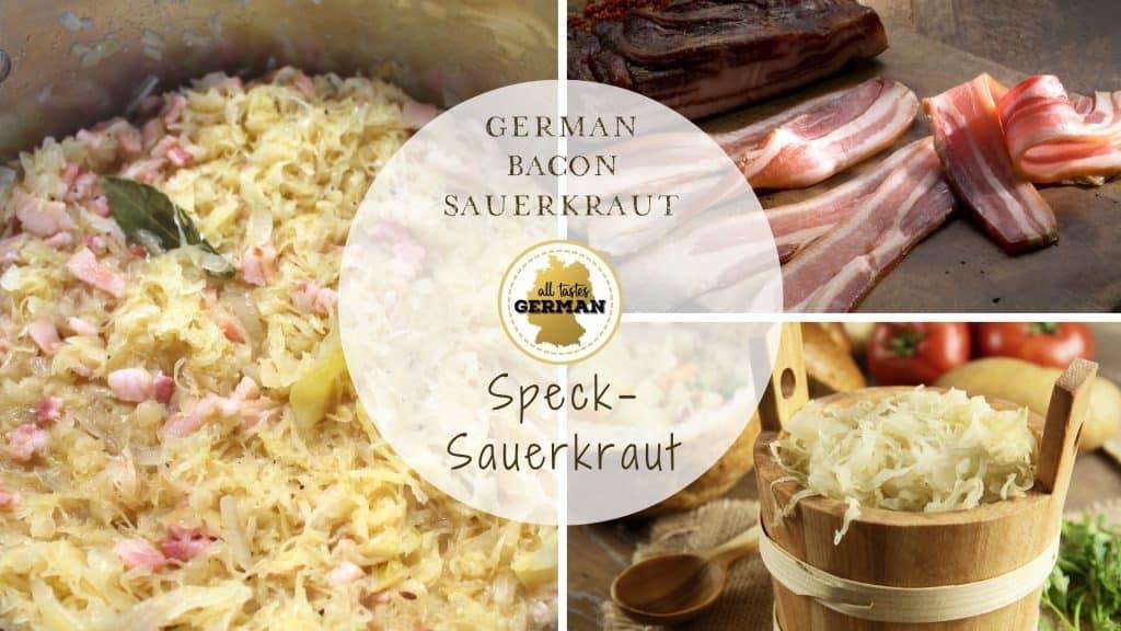 German Sauerkraut Collage
