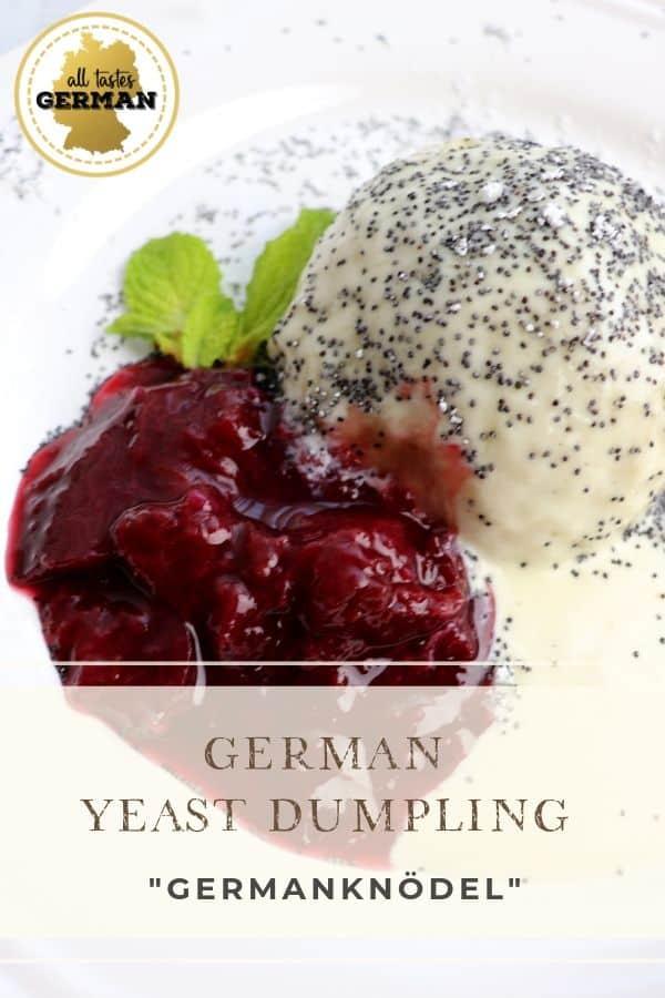 German Yeast Dumpling Pin
