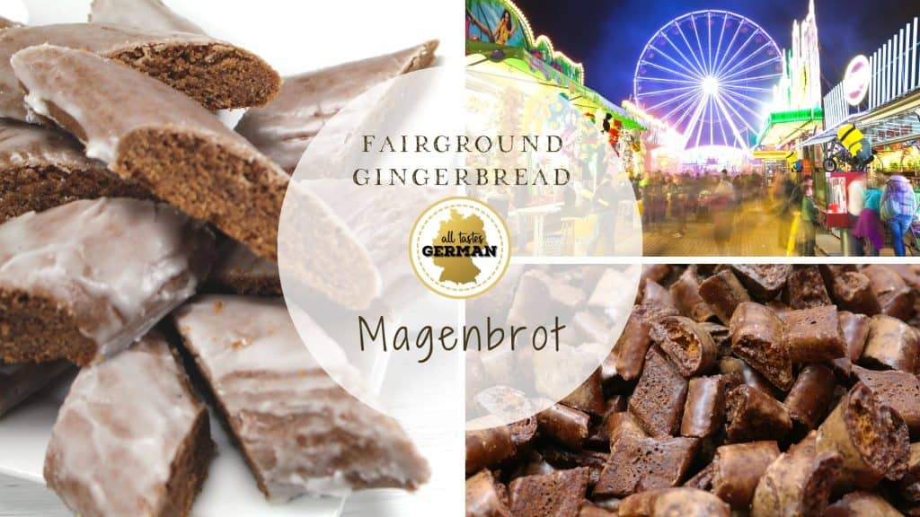 Magenbrot Collage