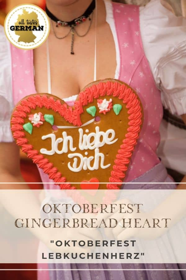 Oktoberfest Heart Pin