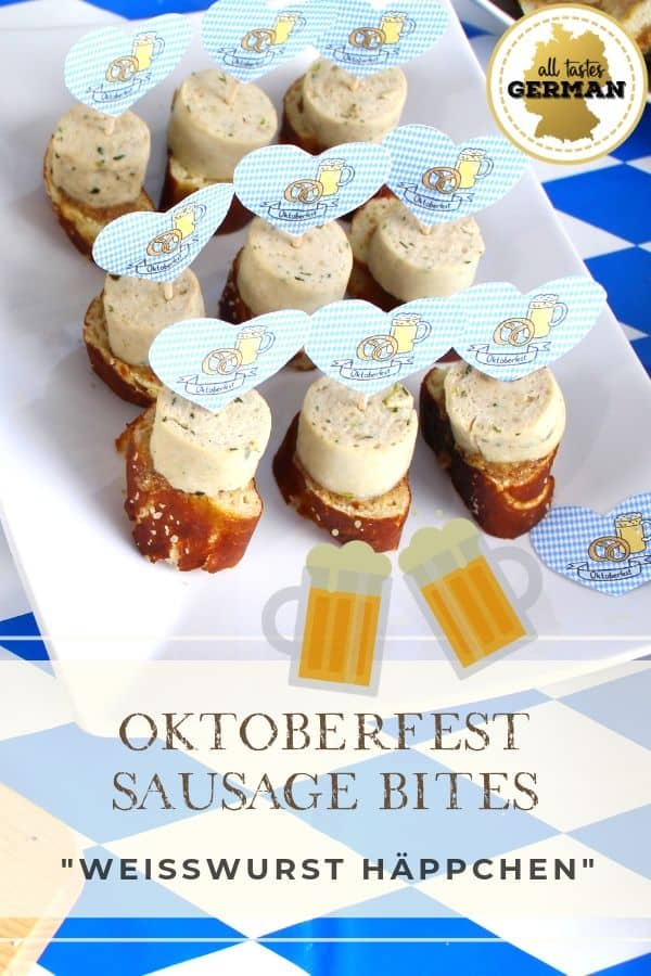 Oktoberfest Sausage Bites Pin
