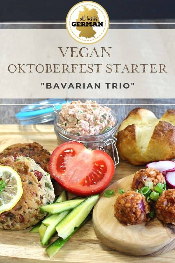 Vegan Oktoberfest Platter Pin