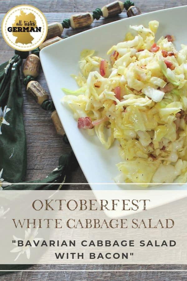 White Cabbage Salad Pin