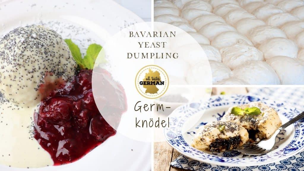 Yeast Dumpling Collage