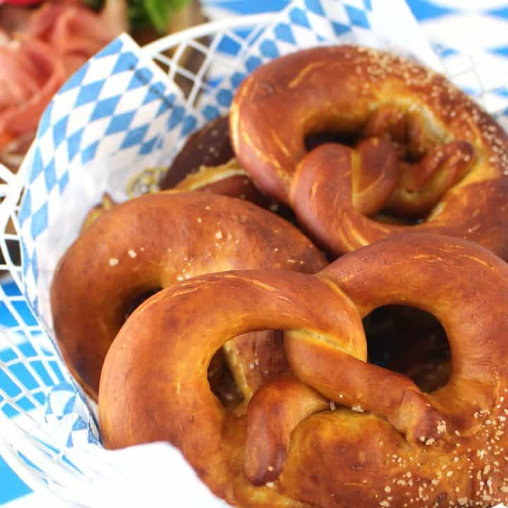 Bavarian Pretzel Recipe