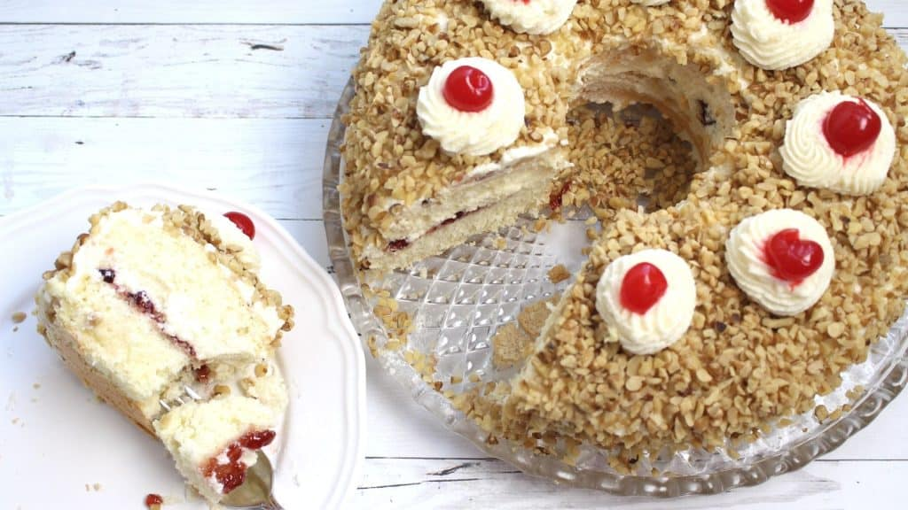 Frankfurt Crown Cake Recipe