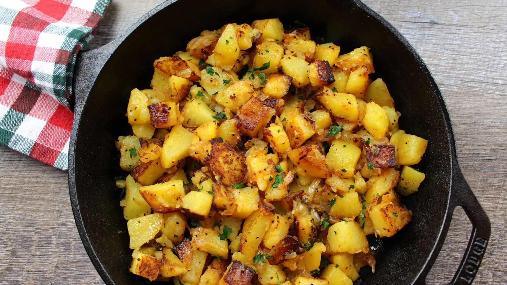German Fried Potatoes Alltastesgerman Com