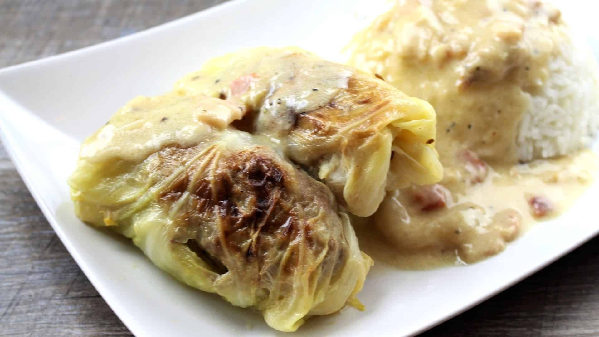 German Cabbage Rolls Recipe