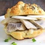 German Herring Sandwich Recipe