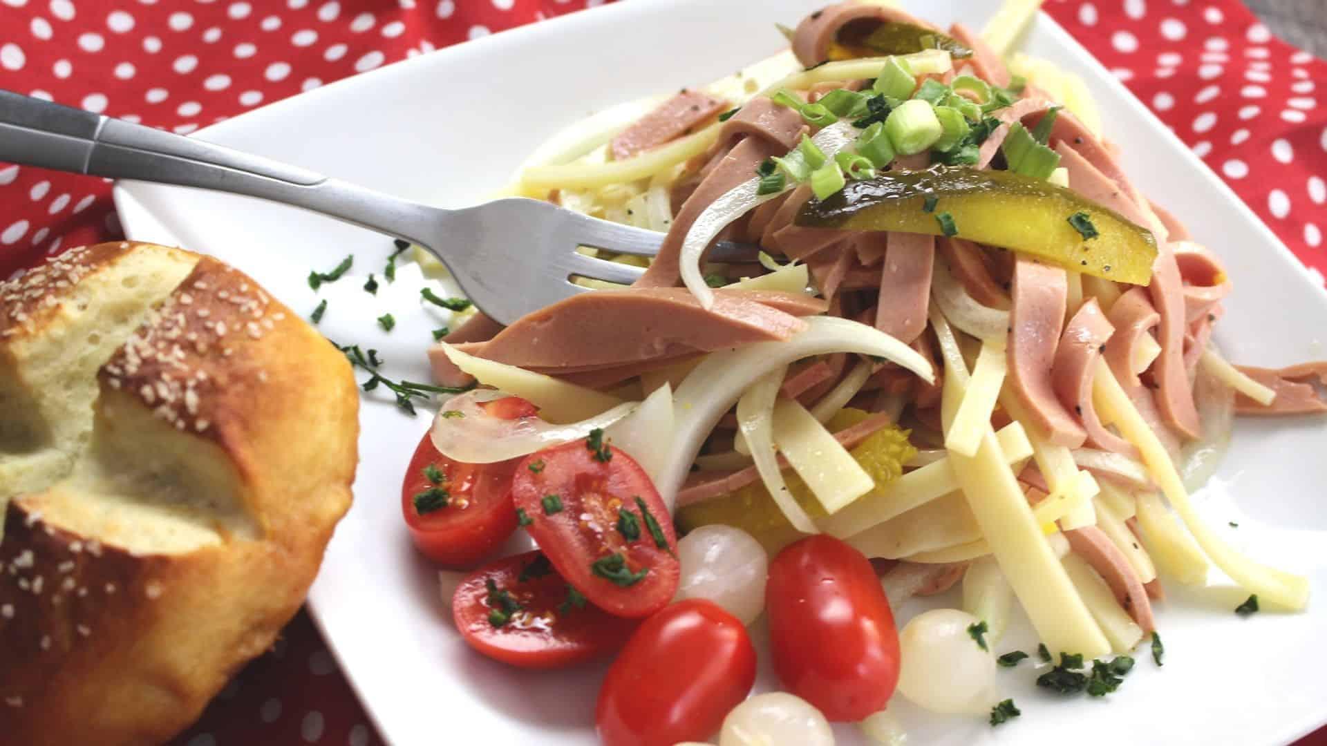 German Sausage Salad Recipe