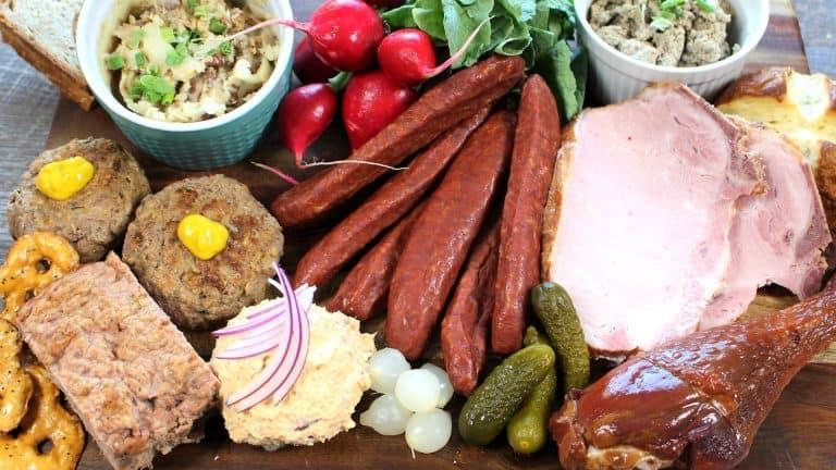 Bavarian Snack Platter