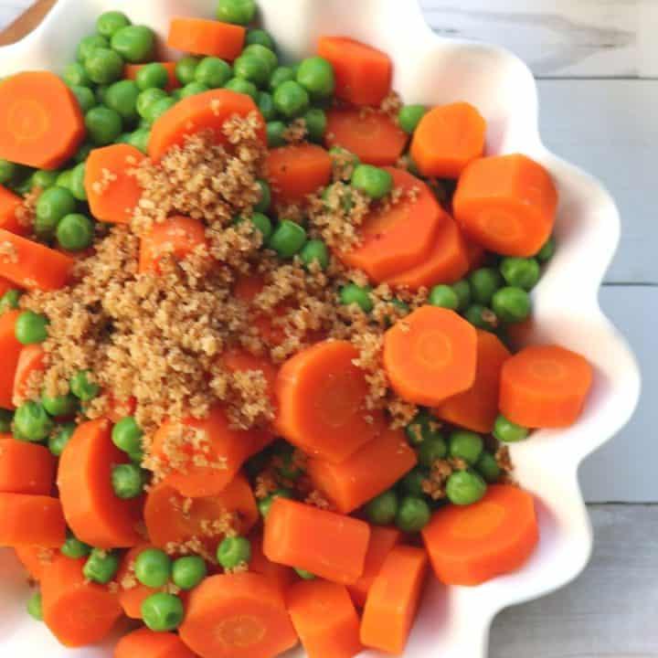 Pea Carrot Side Dish Recipe
