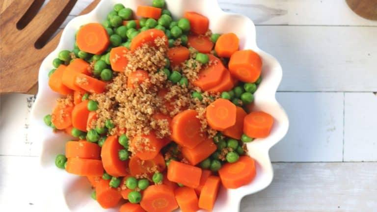 Peas & Carrots Side Dish
