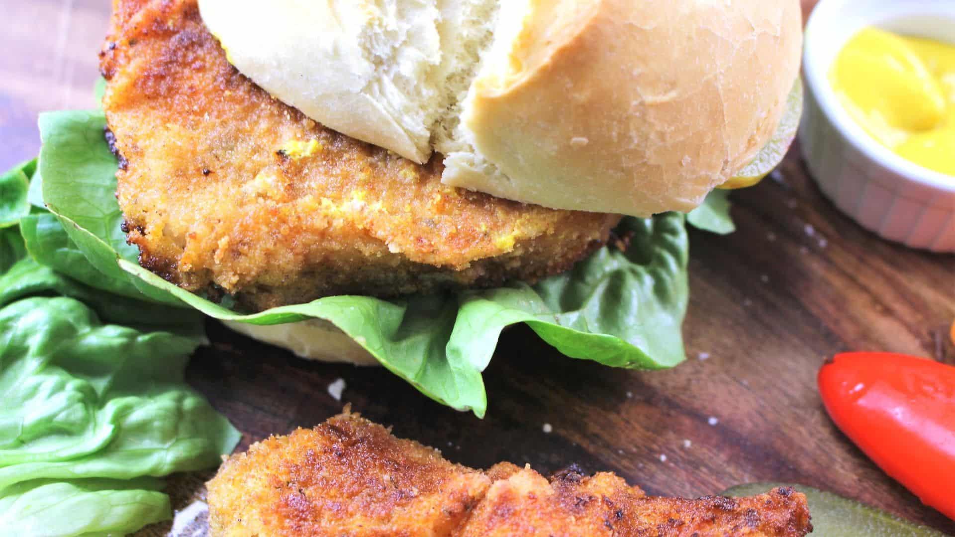 Schnitzel Sandwich Recipe