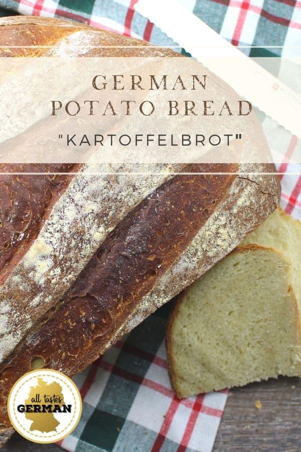 German Potato Bread Pin