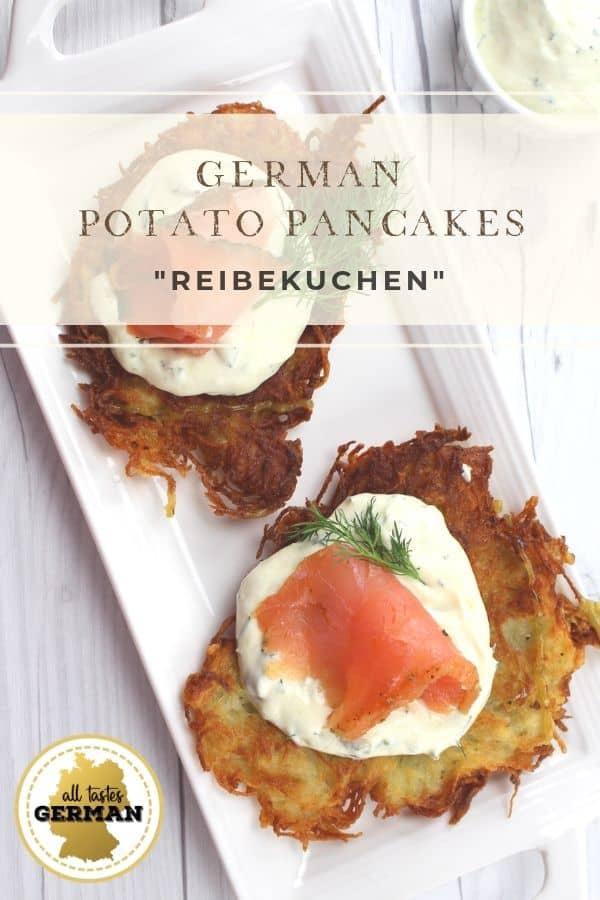 German Potato Pancakes Salmon Pin