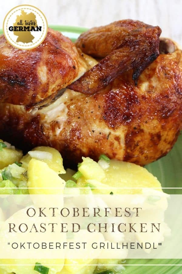 Oktoberfest Chicken Pin