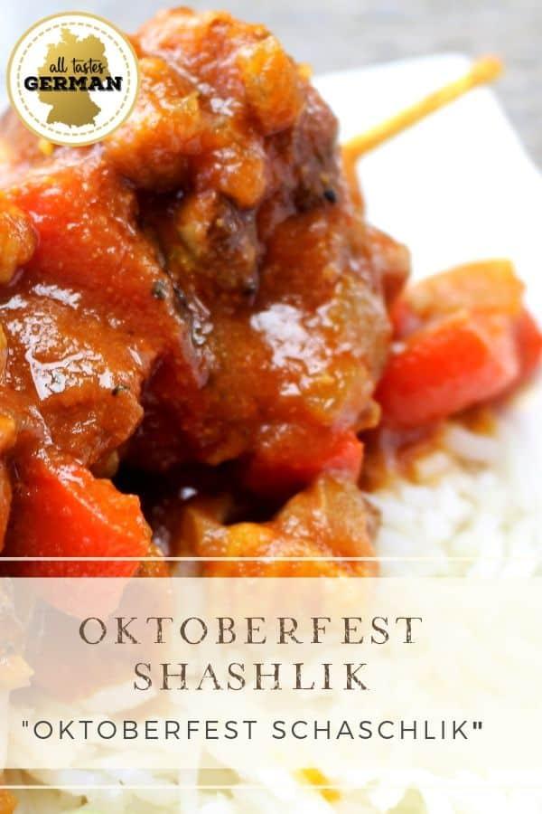 Oktoberfest Shashlik Pin