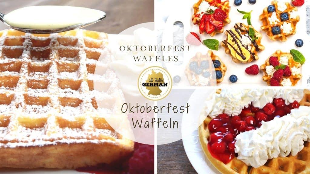 Oktoberfest Waffles