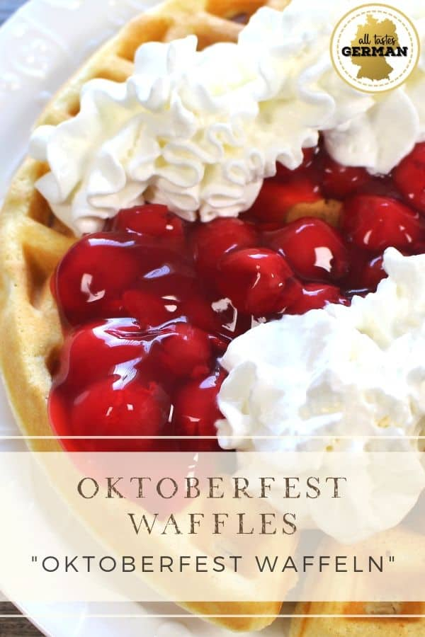 Oktoberfest Waffles Pin