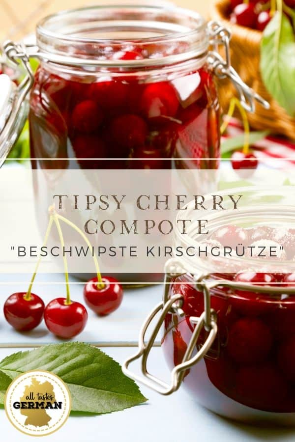 Tipsy Cherry Compote Pin