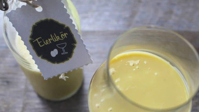 German Egg Liqueur – Eierlikör