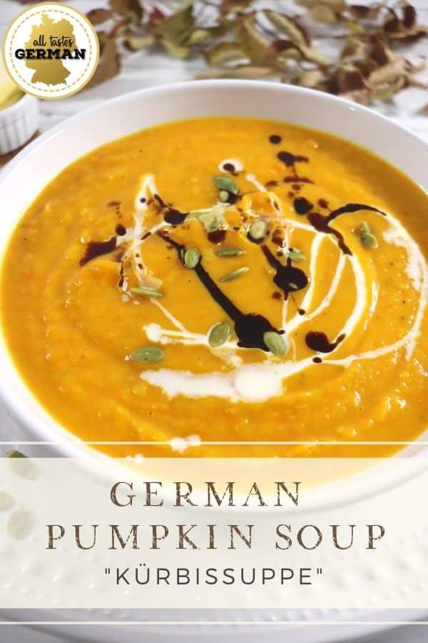 German Pumpkin Soup Pin