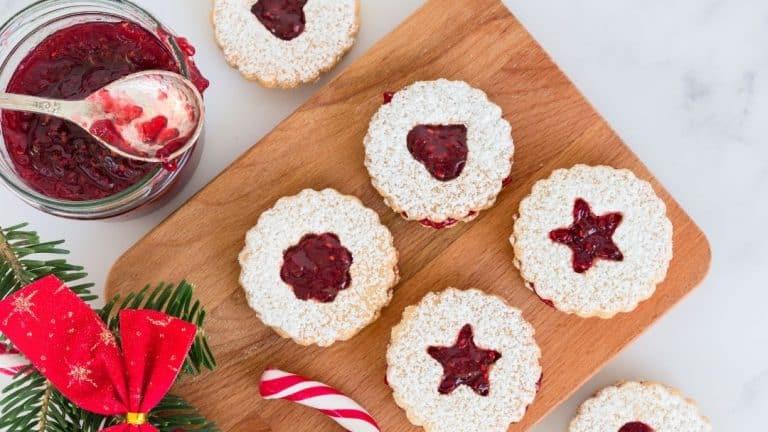 Linzer Style Cookies – Spitzbuben