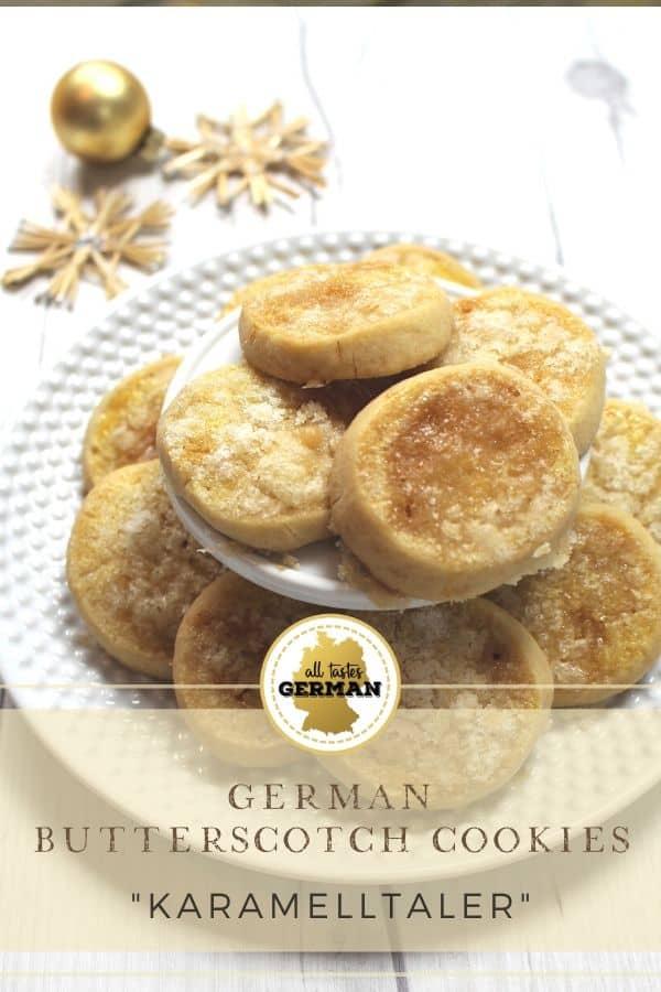 german butterscotch cookies pin