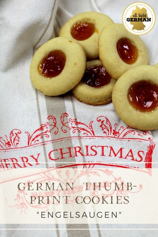 german thumb print cookies pin