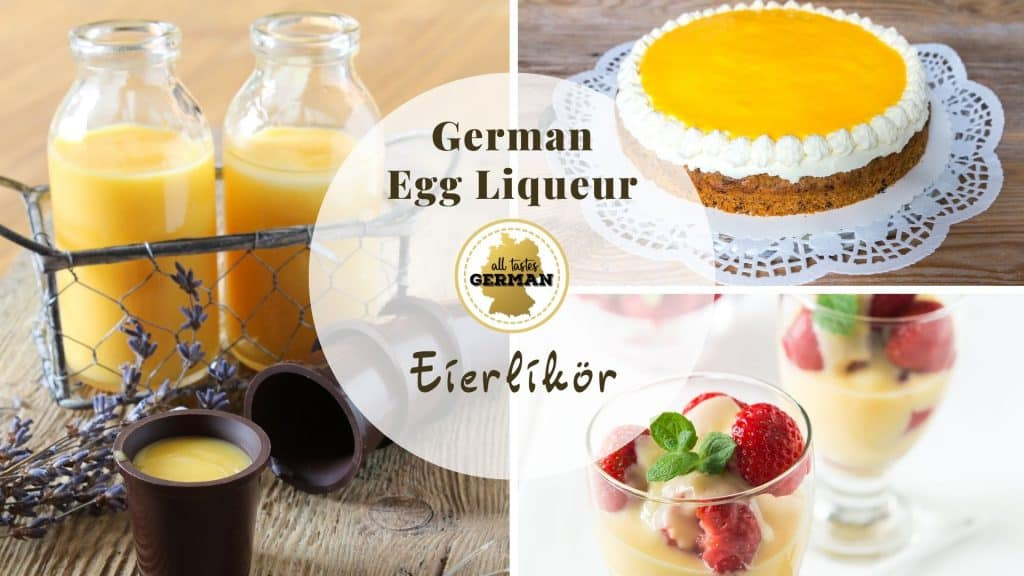 German Egg Liqueur Collage