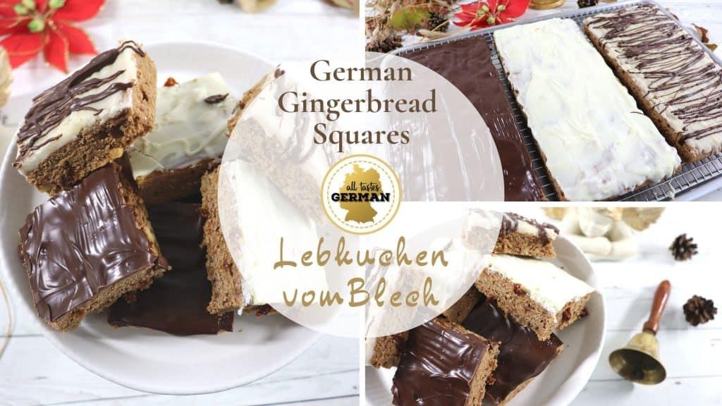 German Lebkuchen Collage