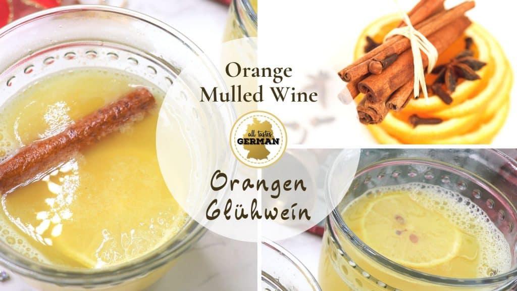 Orange Gluehwein Collage