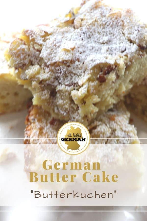 German Butter Cake Pin