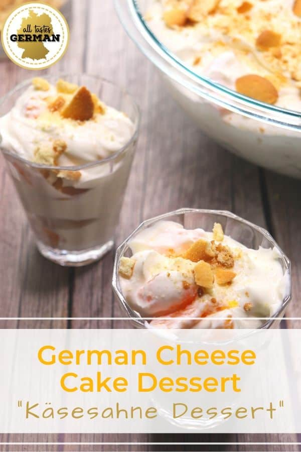 German Cheese Cake Dessert Pin