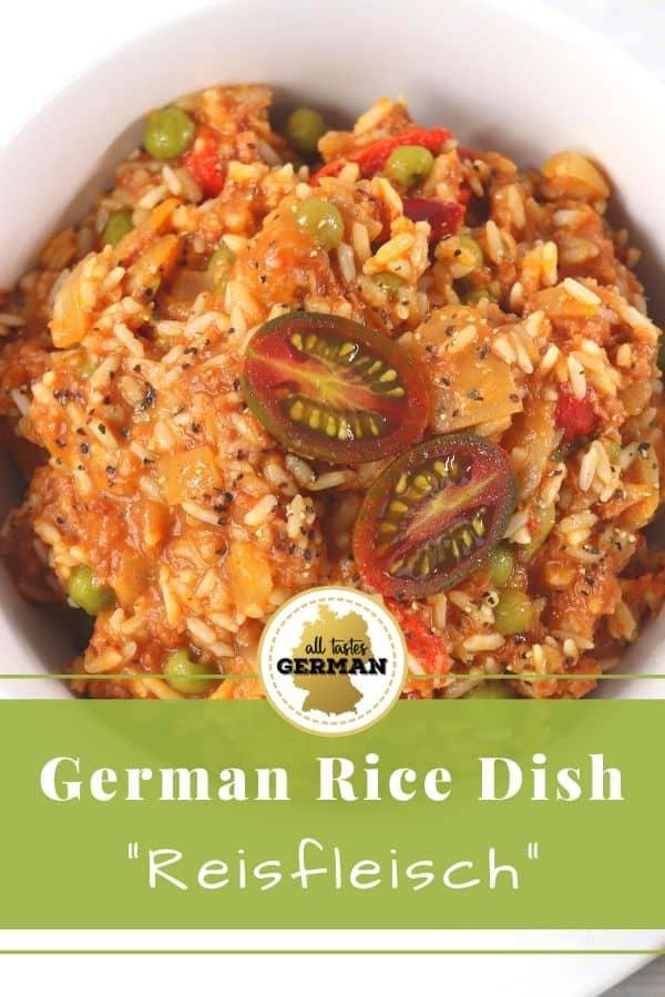German Rice Dish Pin