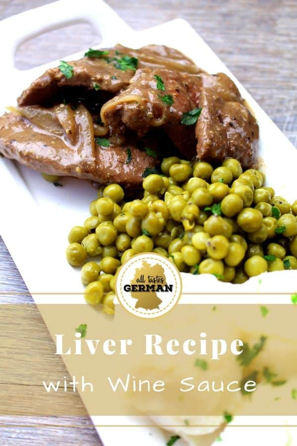 Liver with Wine Sauce